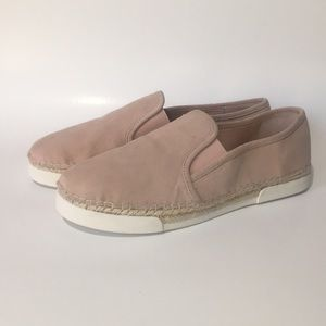 Vince Camuto Tambie leather slip ons, 9.5